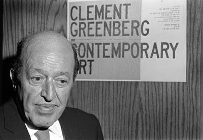 Artist Statement - crítico Clement Greenberg declara o que pensa sobre a arte