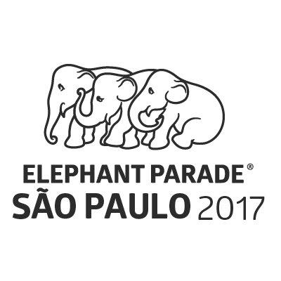 Logotipo da exposição Elephant Parade São Paulo 2017